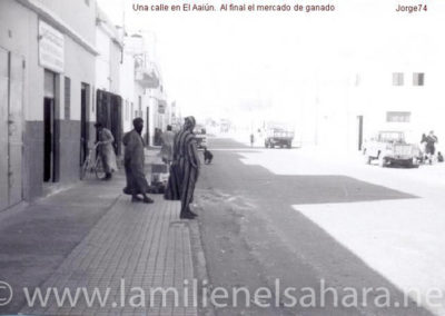 047.- El Aaiún, Calles de El Aaiún.