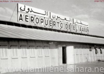 023.- El Aaiún, Aeropuerto.
