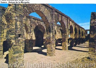 019.- Smara, Ruinas de la Mezquita.