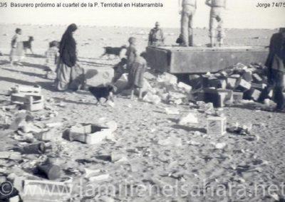 013.- Hatarrambla, Basurero próximo al Campamento.