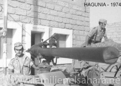 013.- Hagunía, Preparando la artillería.