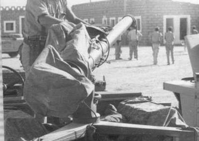010.- Hagunía, Preparando la artillería.