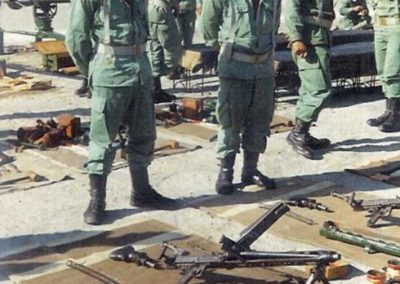 012.- Revisión de armamento.