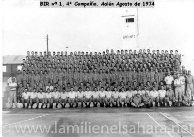 049.- BIR 1, 4ªCía. Agosto 1974.