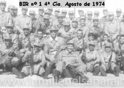 050.- BIR 1, 4ªCía. Agosto 1974.