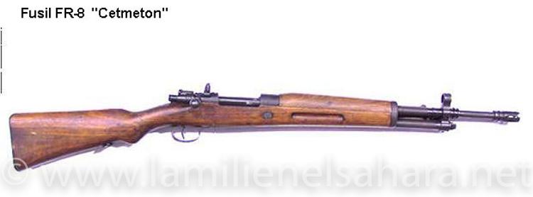 "006.- Fusil ""Cetmeton"" FR-8 (Mauser)."