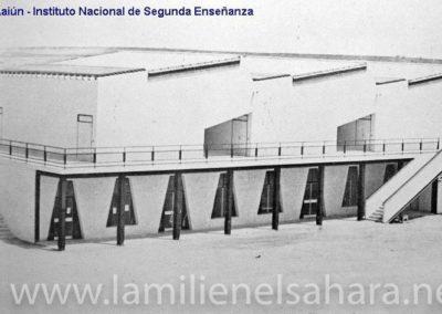 083.- El Aaiún, Instituto Nacional de Segunda Enseñanza.